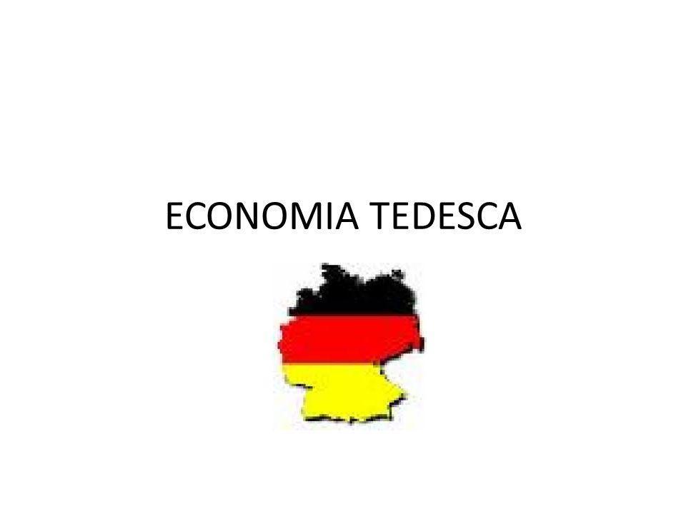 ECONOMIA TEDESCA .