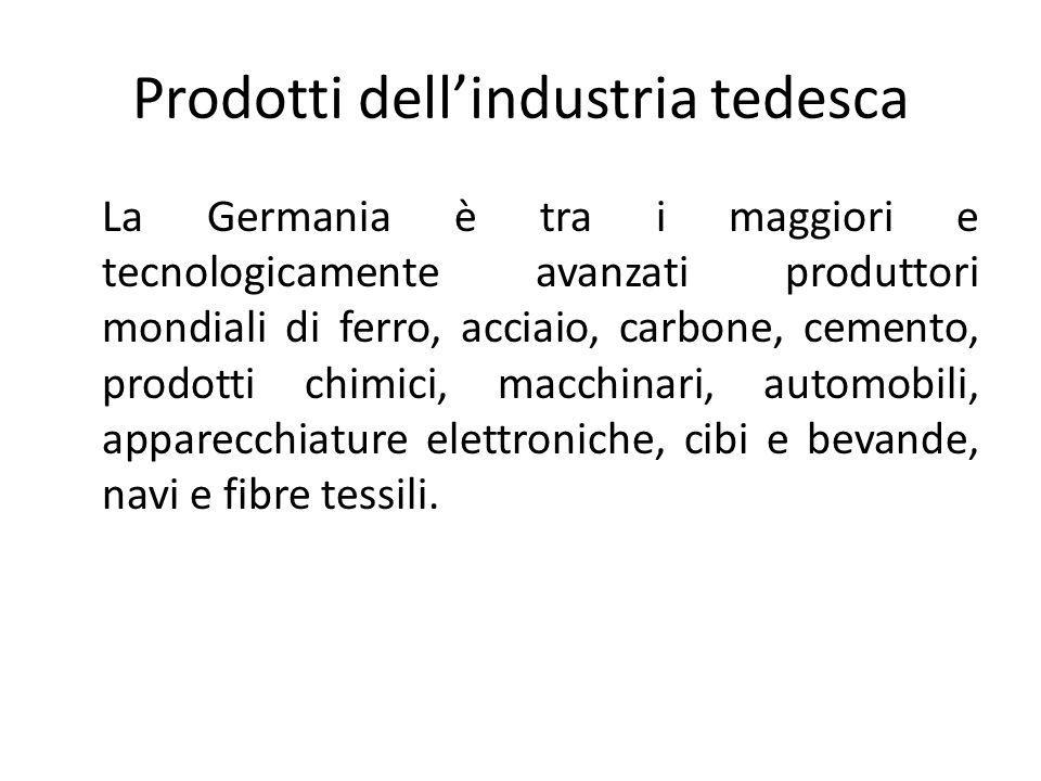 Prodotti dell'industria tedesca