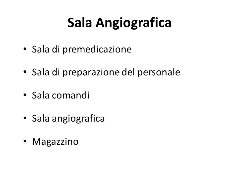 Sala Angiografica Sala di premedicazione