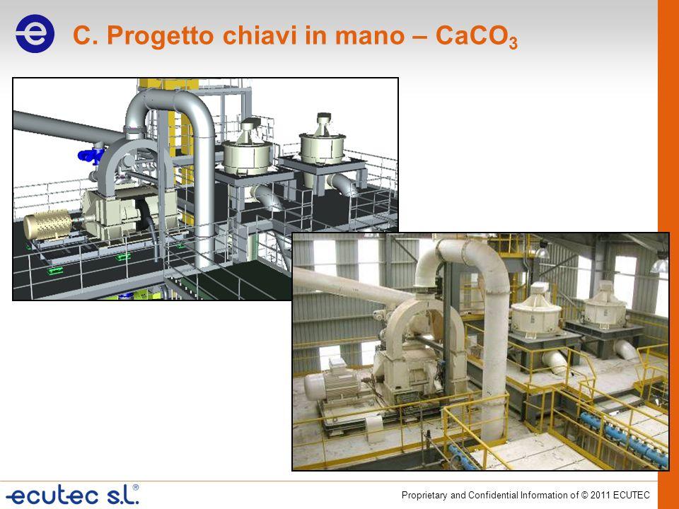 C. Progetto chiavi in mano – CaCO3