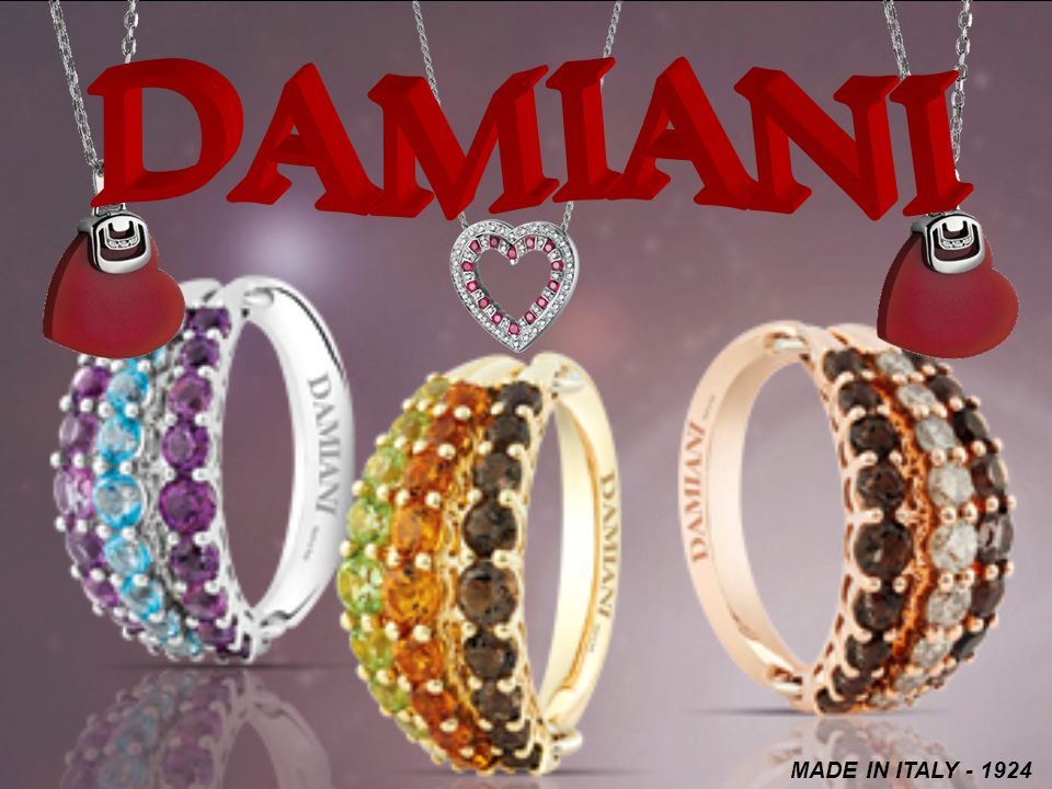 DAMIANI MADE IN ITALY - 1924