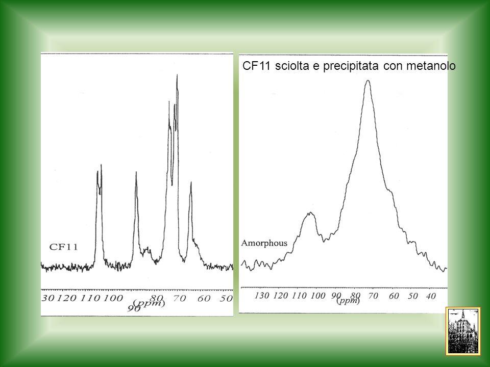 CF11 sciolta e precipitata con metanolo