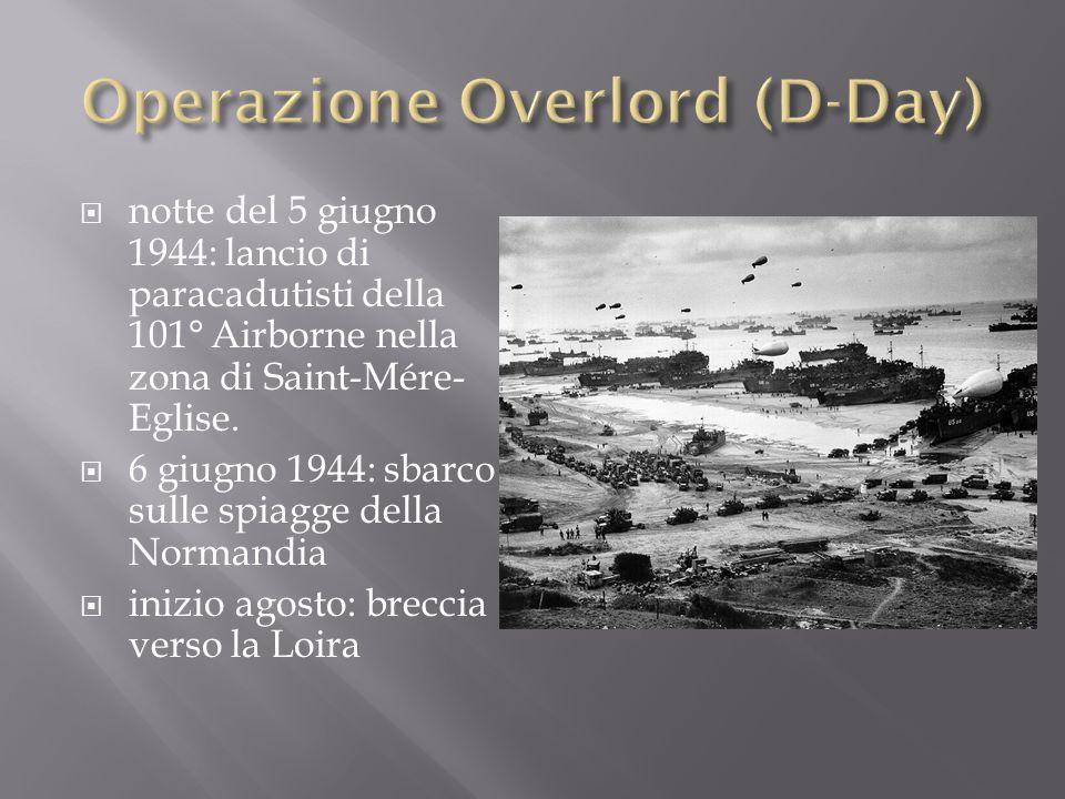 Operazione Overlord (D-Day)