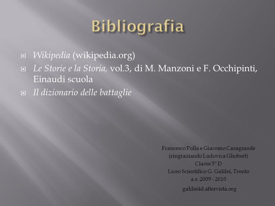 Bibliografia Wikipedia (wikipedia.org)