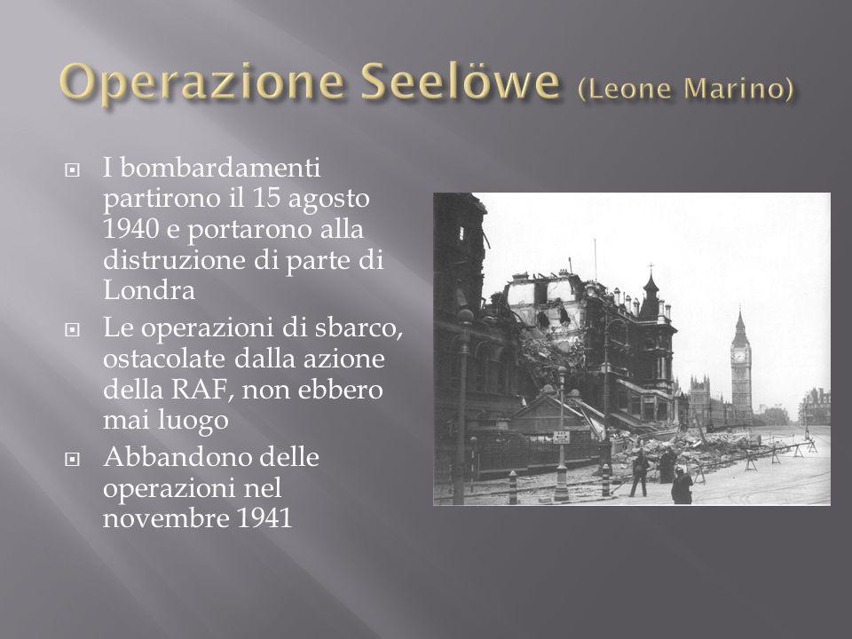 Operazione Seelöwe (Leone Marino)
