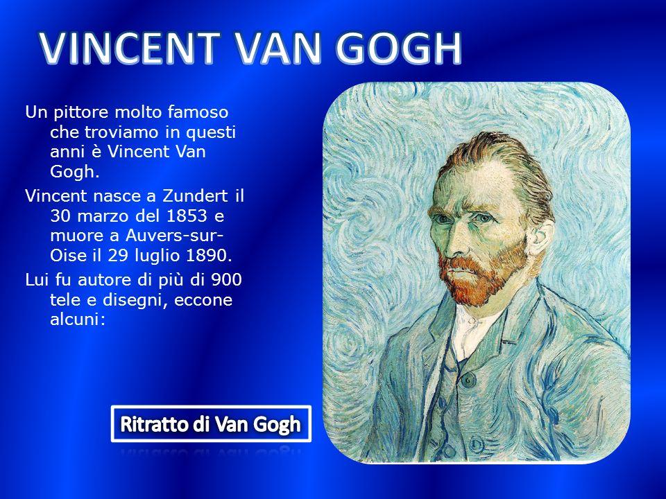 VINCENT VAN GOGH Ritratto di Van Gogh