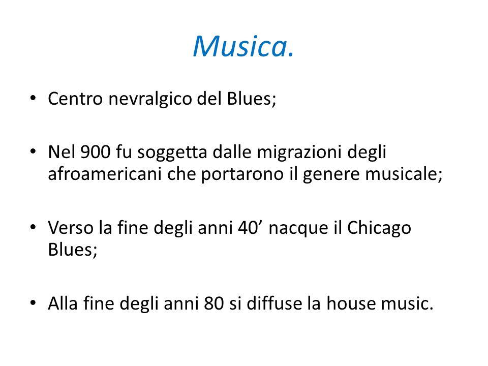 Musica. Centro nevralgico del Blues;