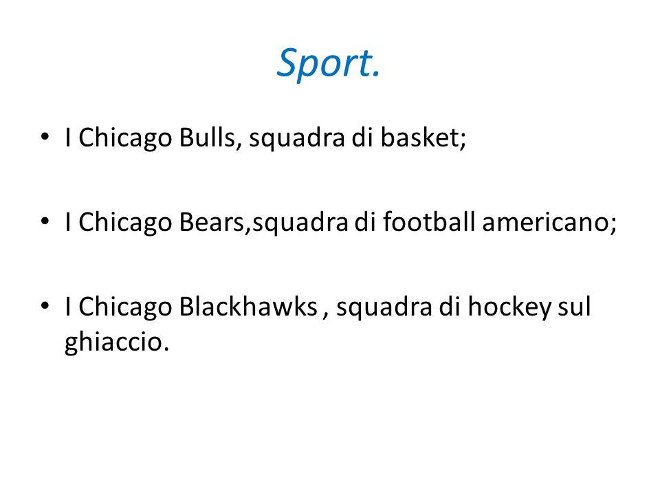 Sport. I Chicago Bulls, squadra di basket;