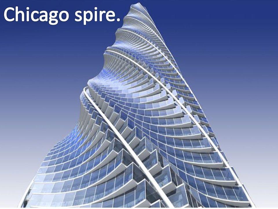 Chicago spire.