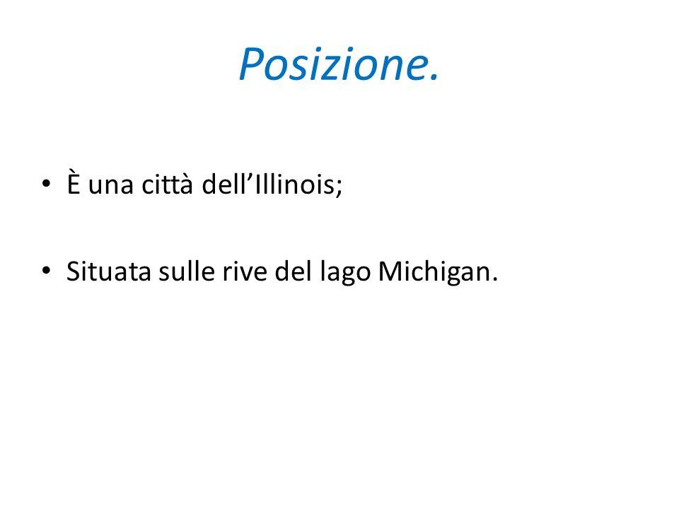 Posizione. È una città dell'Illinois;