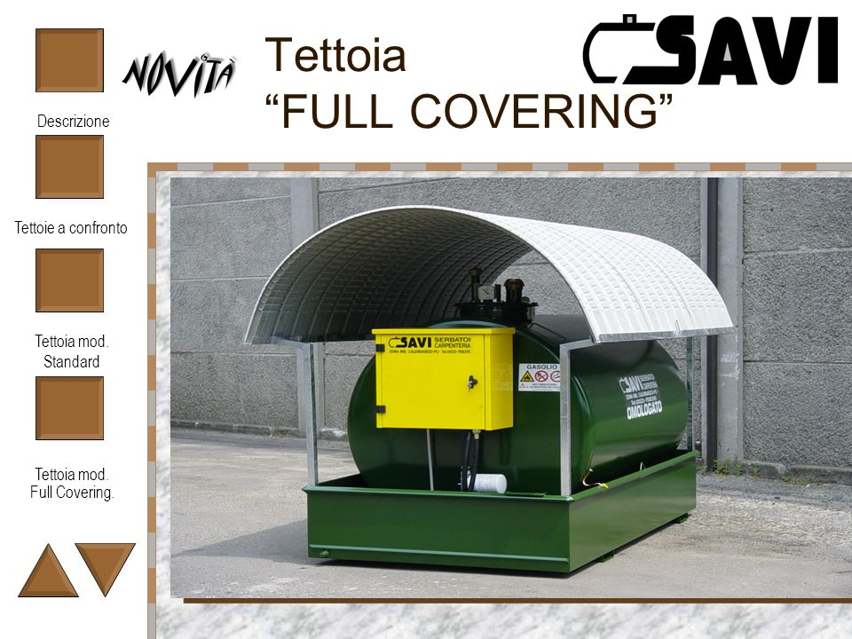 Tettoia FULL COVERING