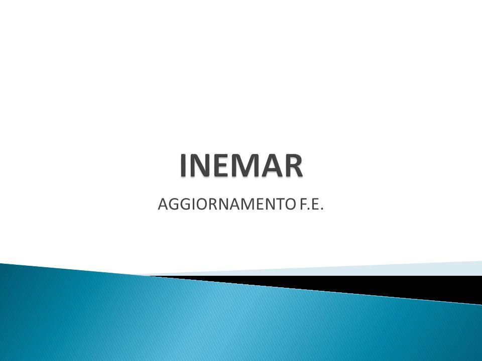 INEMAR AGGIORNAMENTO F.E.
