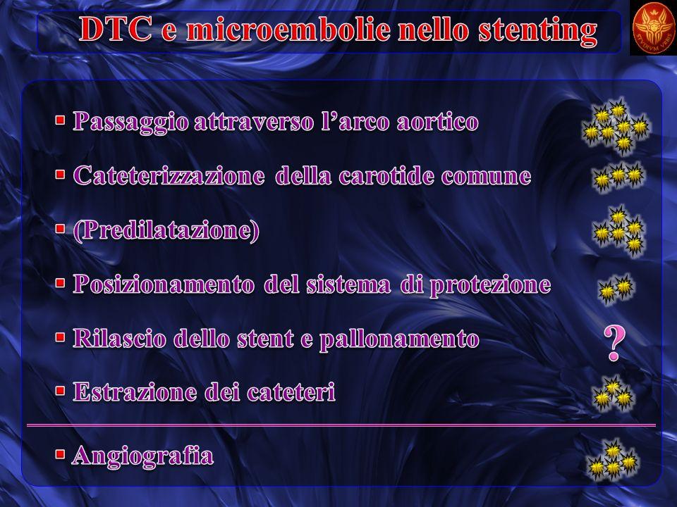 DTC e microembolie nello stenting