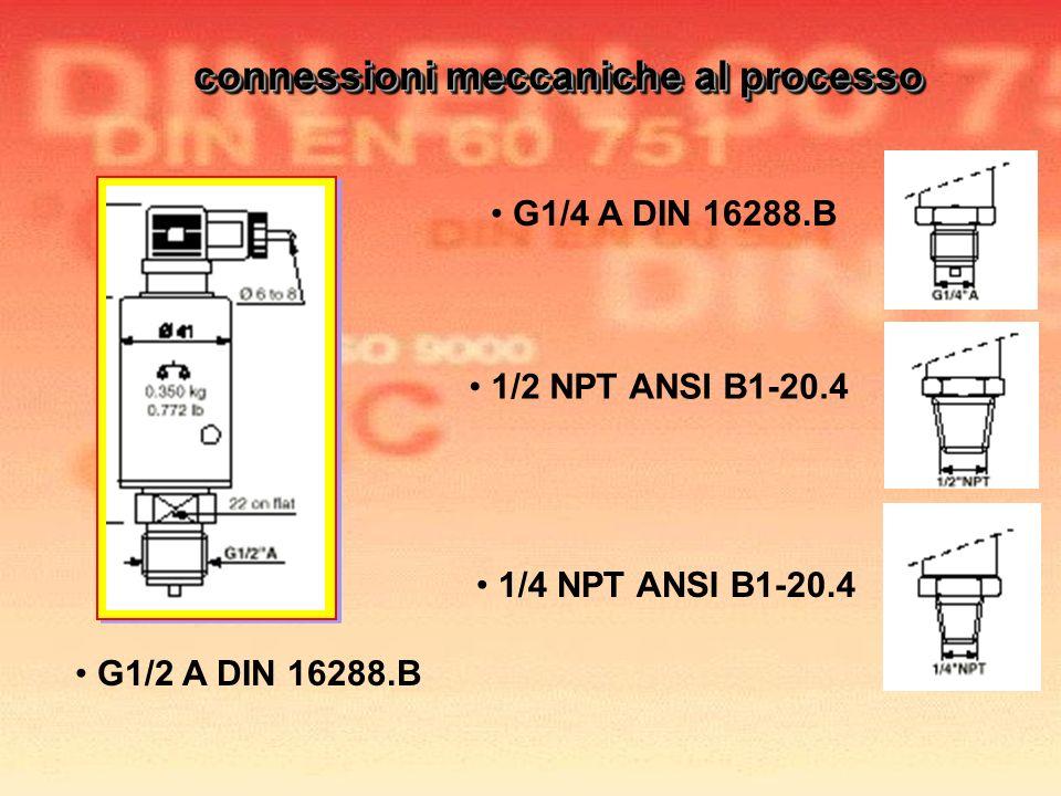 connessioni meccaniche al processo