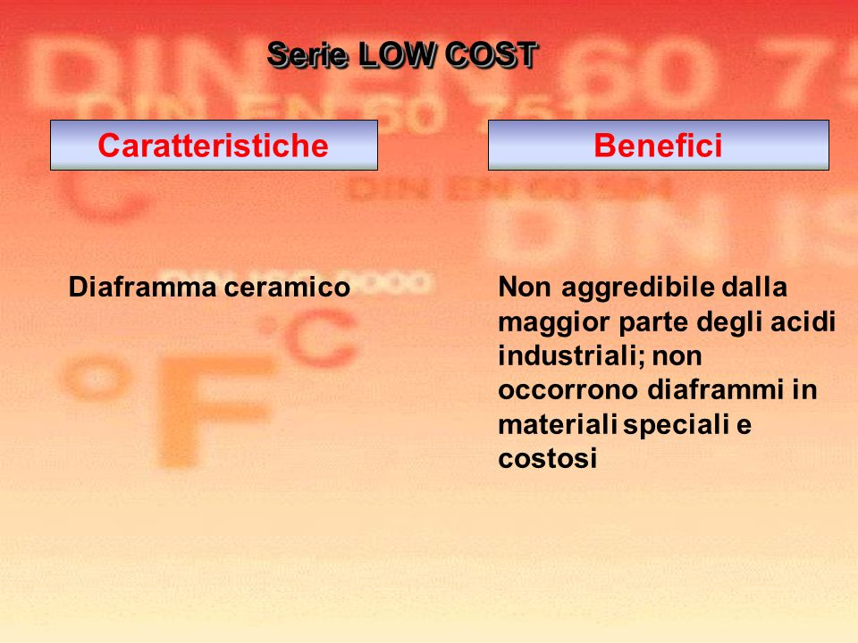 Caratteristiche Benefici