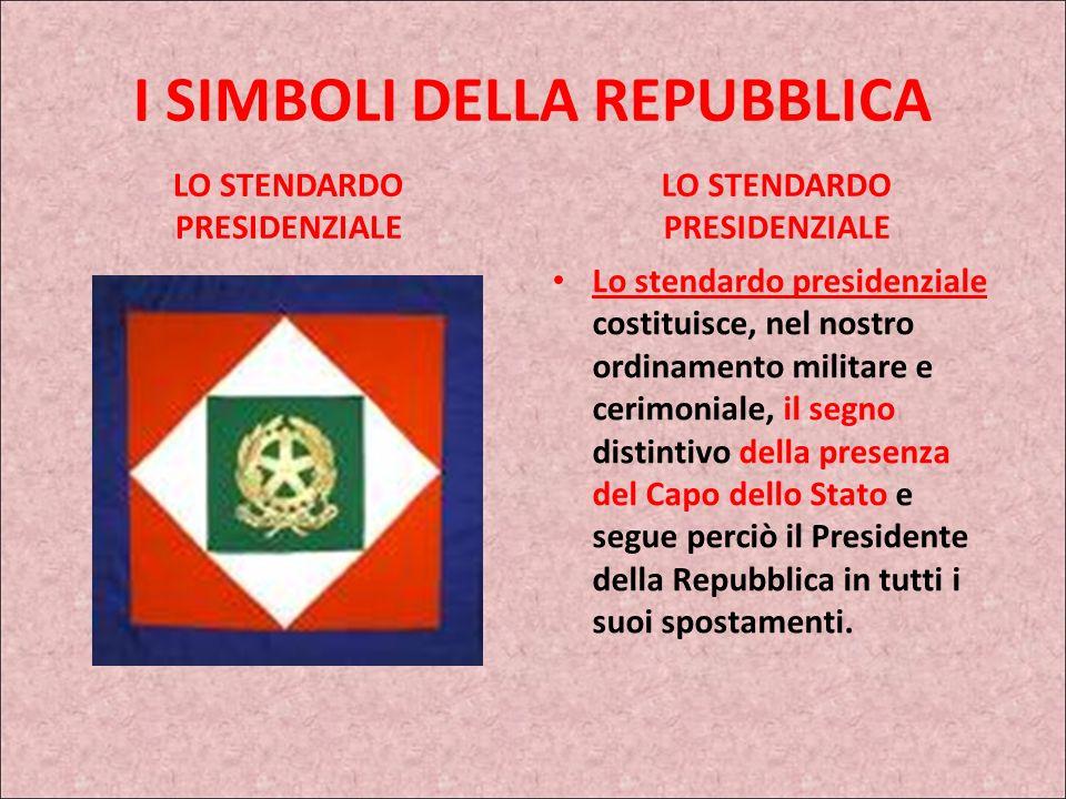 I SIMBOLI DELLA REPUBBLICA