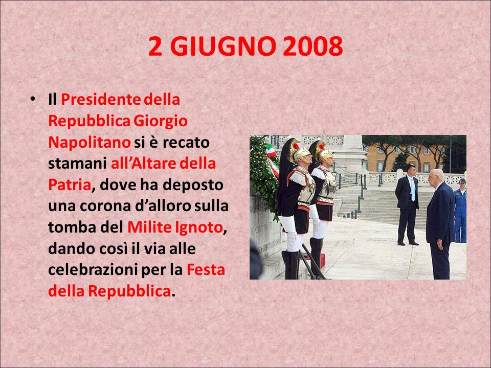 2 GIUGNO 2008