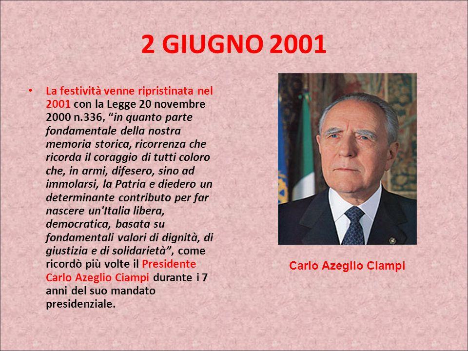 2 GIUGNO 2001
