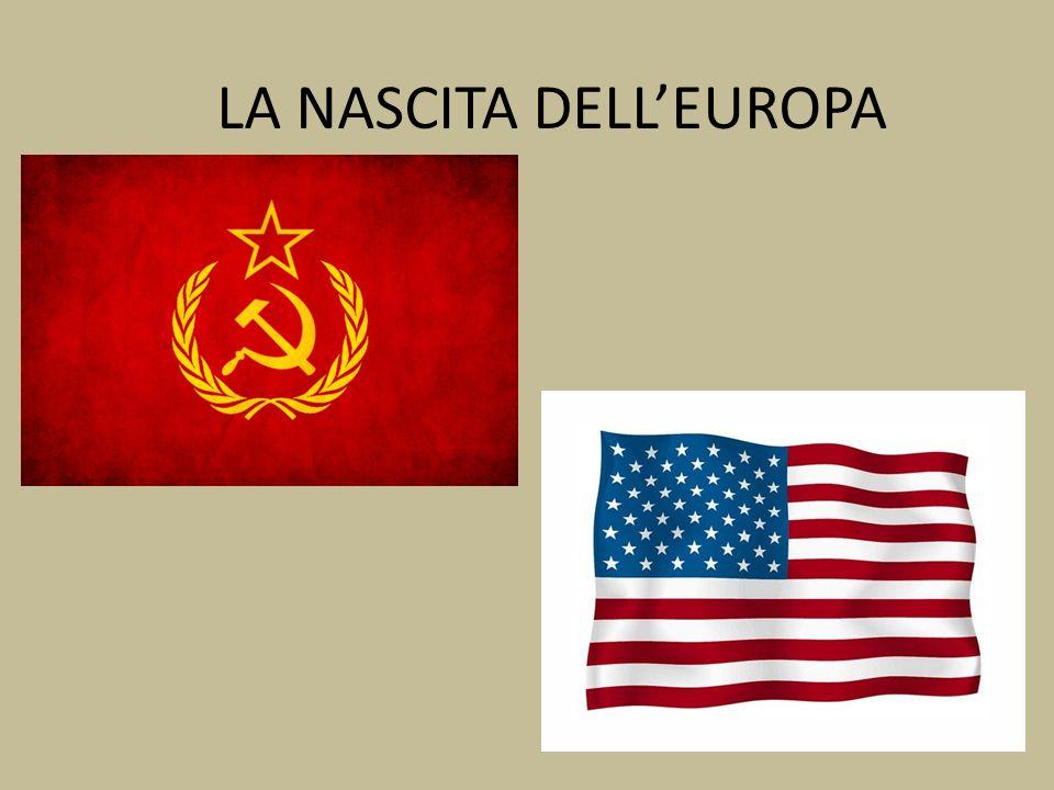 LA NASCITA DELL'EUROPA
