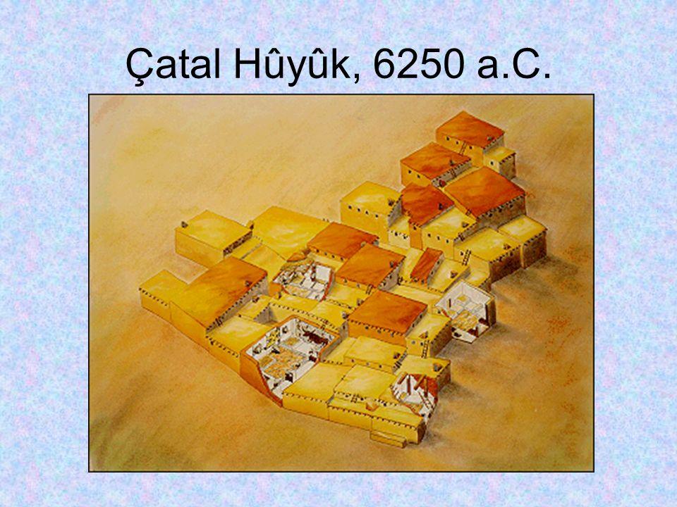 Çatal Hûyûk, 6250 a.C.