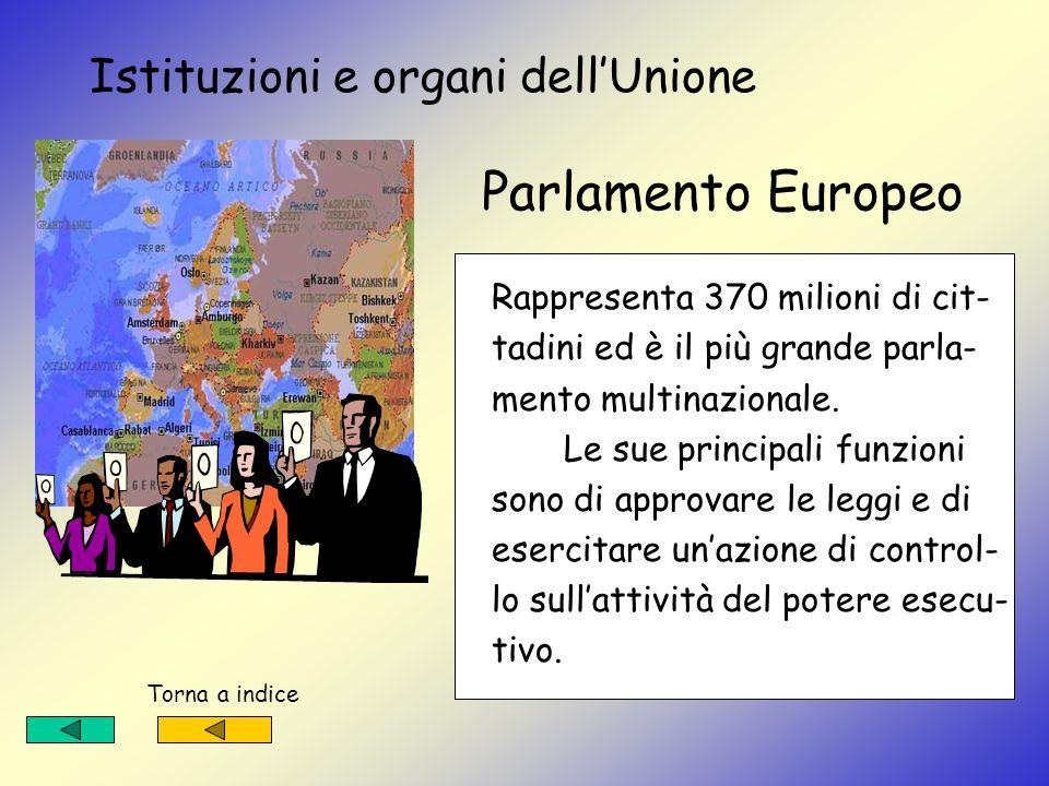 Istituzioni e organi dell'Unione Parlamento Europeo