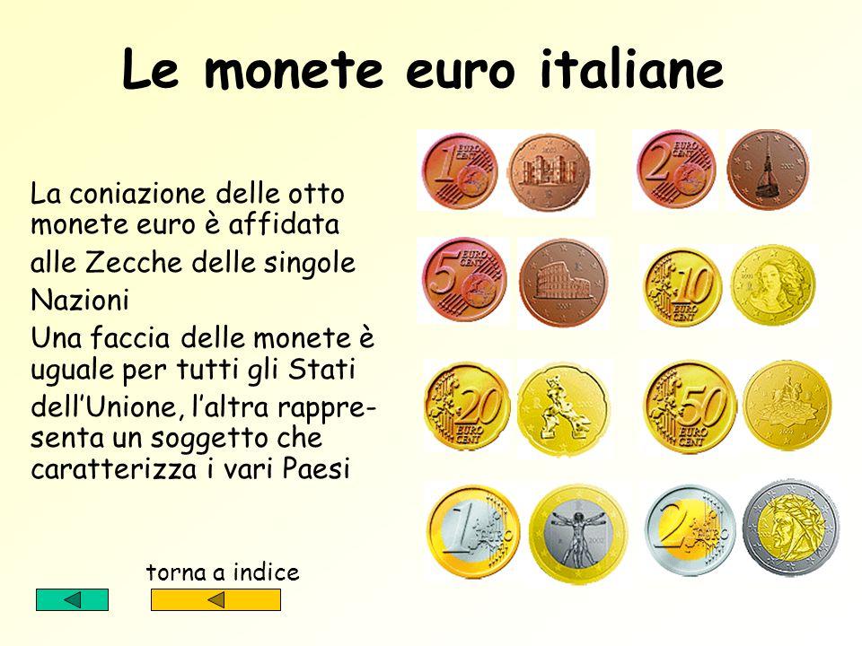 Le monete euro italiane