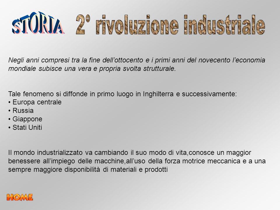2° rivoluzione industriale