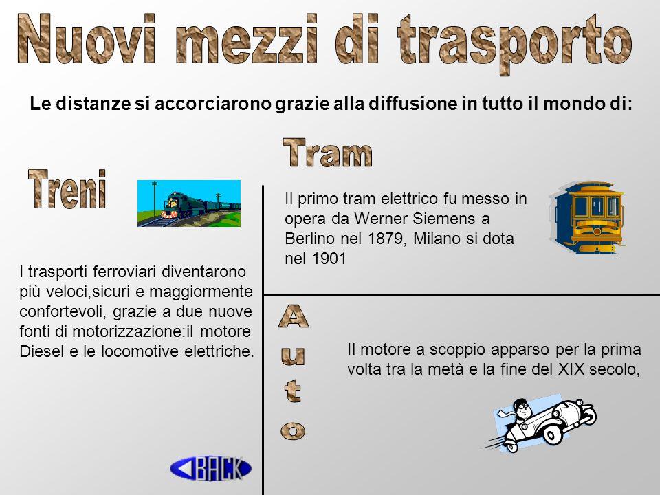 Nuovi mezzi di trasporto