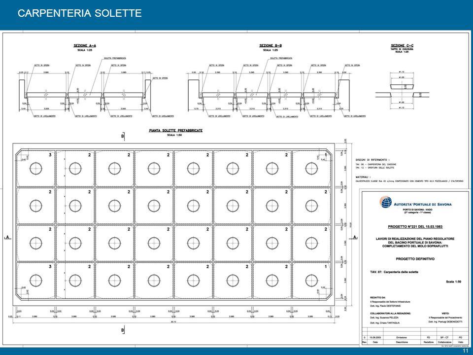 CARPENTERIA SOLETTE Tavola 7
