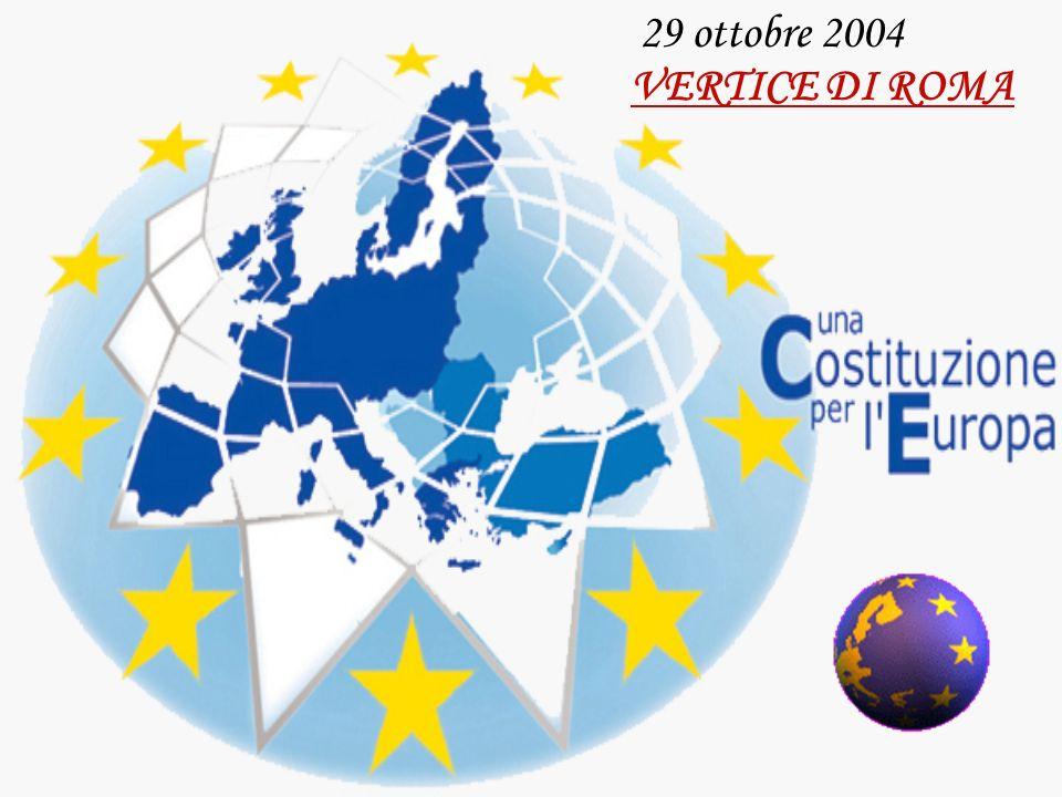 29 ottobre 2004 VERTICE DI ROMA