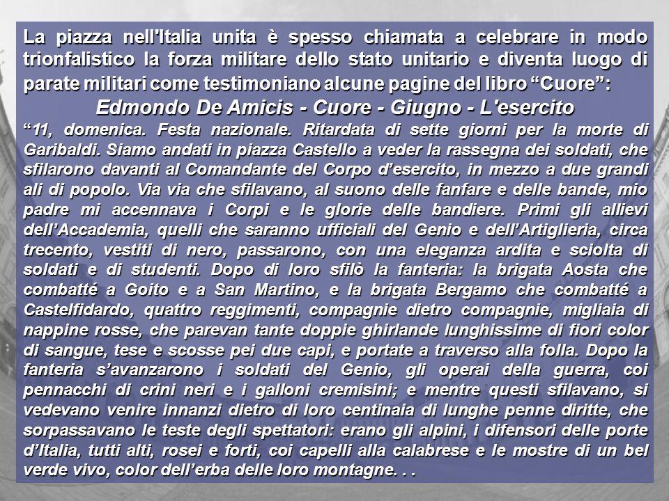 Edmondo De Amicis - Cuore - Giugno - L esercito