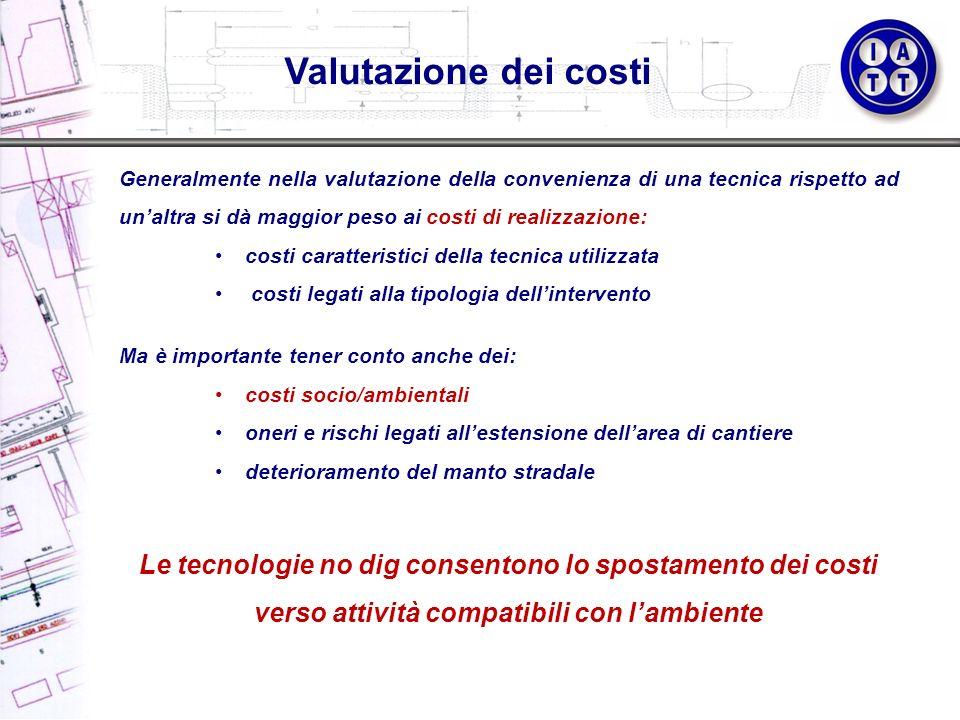 Valutazione dei costi