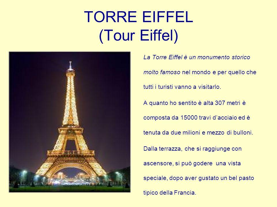 TORRE EIFFEL (Tour Eiffel)