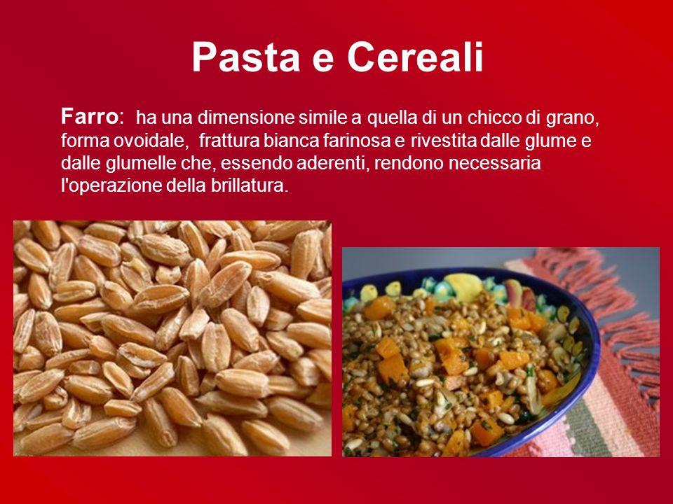 Pasta e Cereali