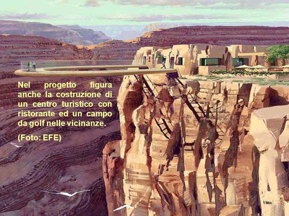Nel progetto figura anche la costruzione di un centro turistico con ristorante ed un campo da golf nelle vicinanze.
