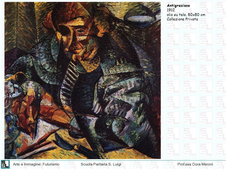 Antigrazioso 1912 olio su tela, 80x80 cm Collezione Privata