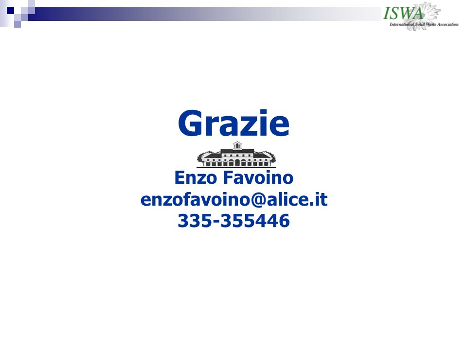 Grazie Enzo Favoino enzofavoino@alice.it 335-355446