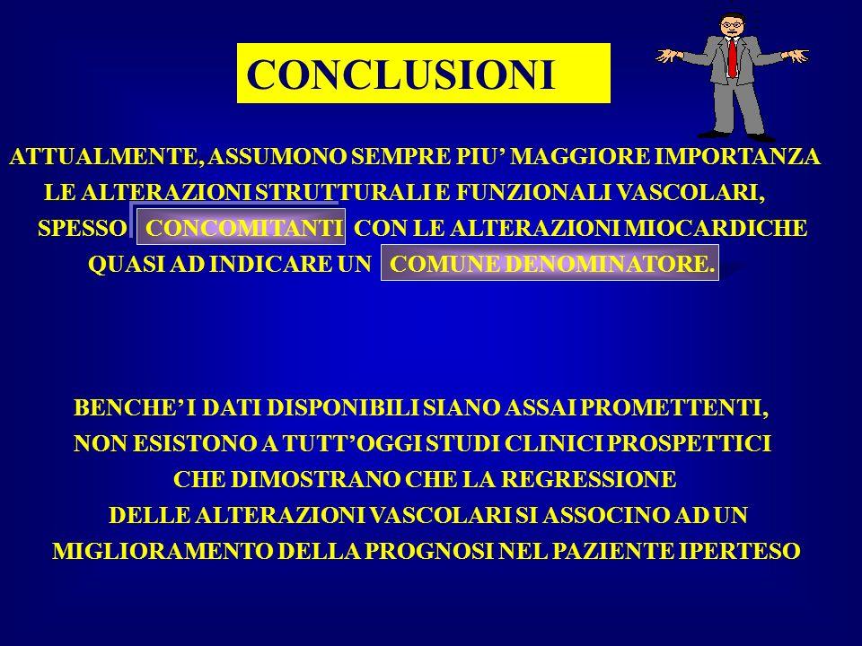 CONCLUSIONI ATTUALMENTE, ASSUMONO SEMPRE PIU' MAGGIORE IMPORTANZA