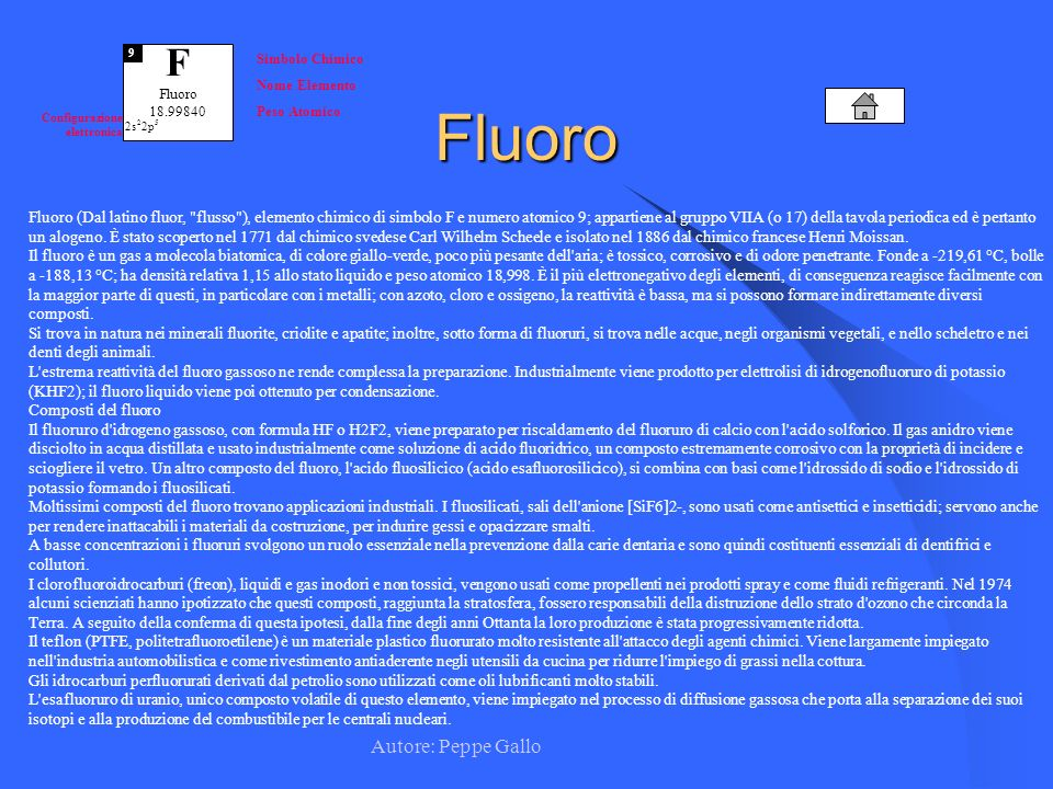 Fluoro F Autore: Peppe Gallo
