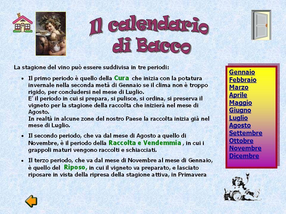 Il calendario di Bacco.