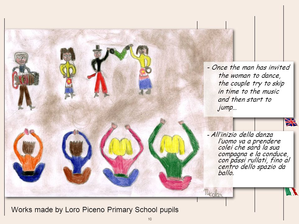 Works made by Loro Piceno Primary School pupils