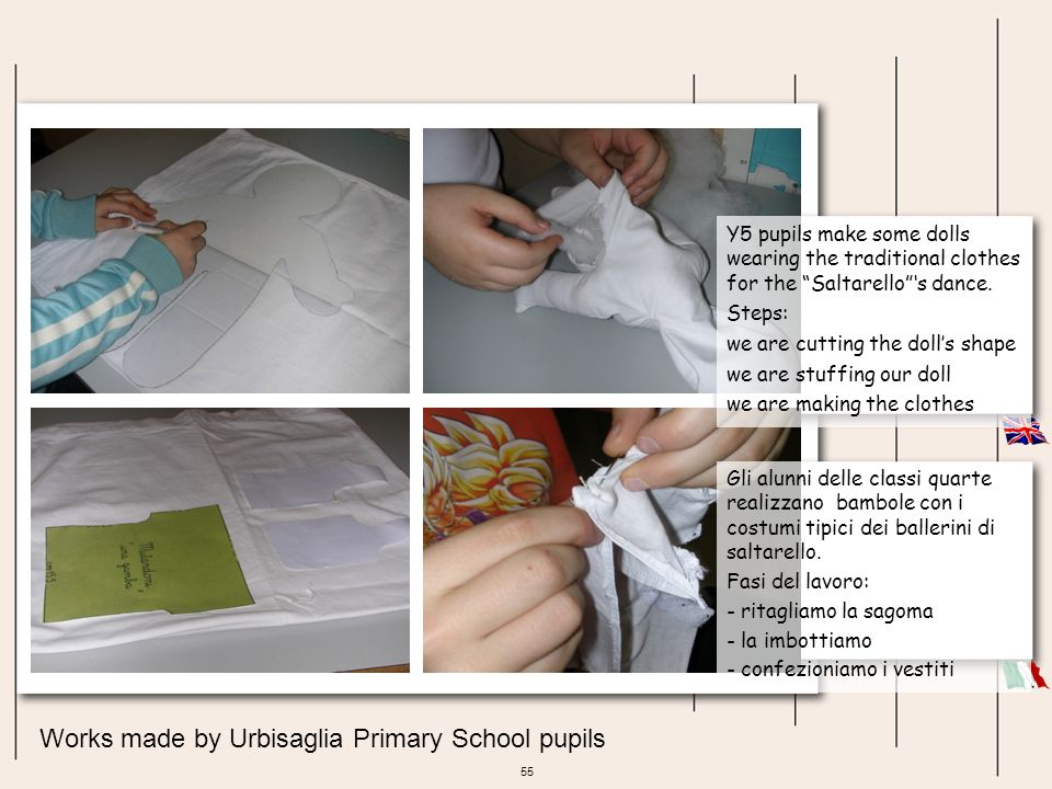 Works made by Urbisaglia Primary School pupils