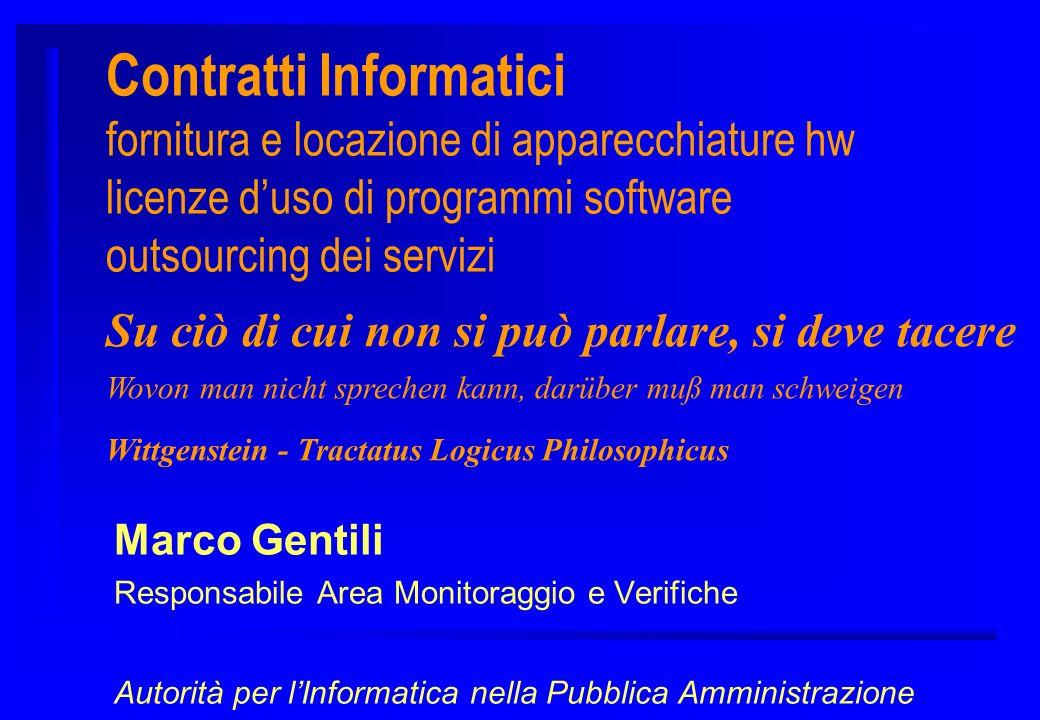 Governo dei Contratti di Servizio