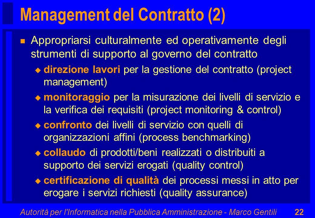Management del Contratto (2)