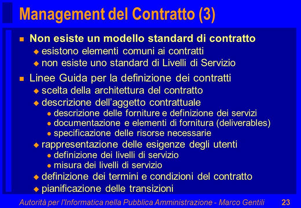 Management del Contratto (3)