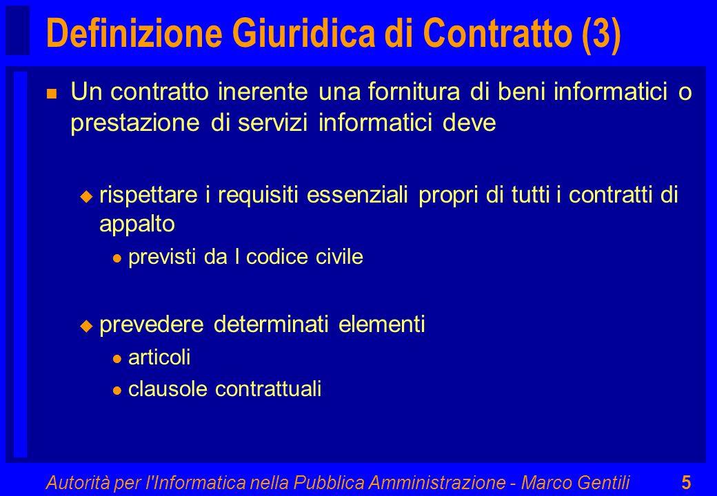 Definizione Giuridica di Contratto (3)