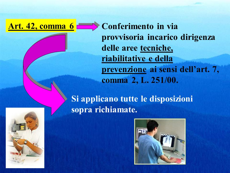 Attribuzioni dirigenza delle professioni sanitarie e regolazione rapporti funzionali e organizzativi con la dirigenza medica e SPTA (disciplina pregressa)