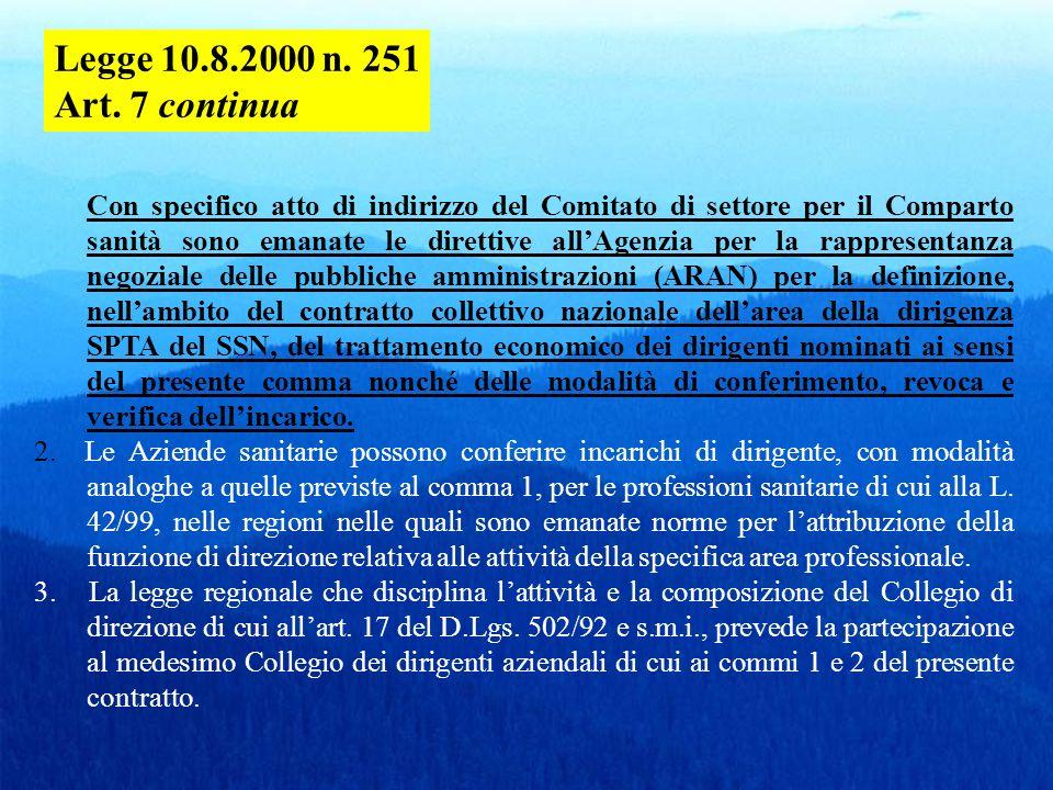 D.Lgs. 502/1992, art. 15 septies : Contratti a tempo determinato