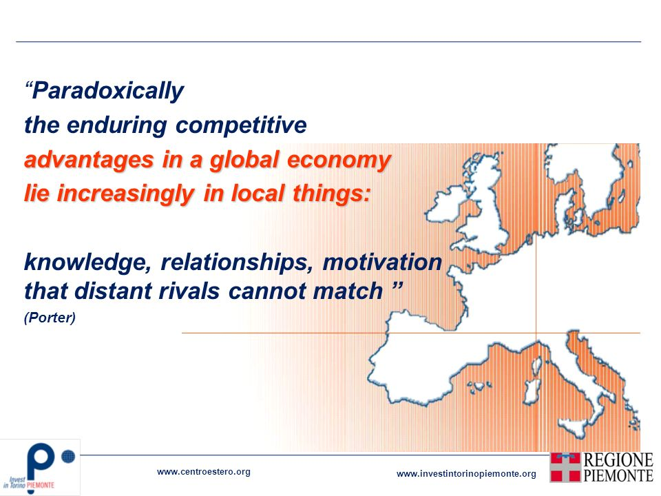the enduring competitive advantages in a global economy