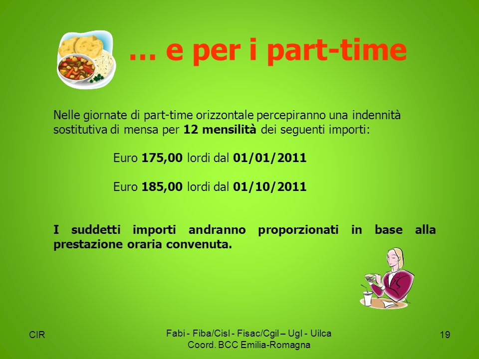Fabi - Fiba/Cisl - Fisac/Cgil – Ugl - Uilca Coord. BCC Emilia-Romagna